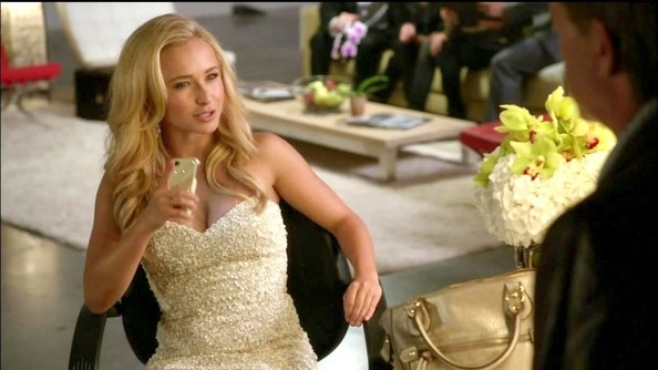 Hayden Panettiere's Textured Mini on 'Nashville'