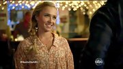 Hayden Panettiere looked like the girl next door in this floral print blouse. Love the side braid, too!