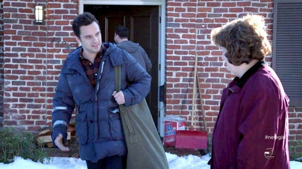 Jake Johnson Down Jacket