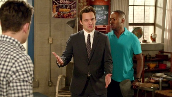 Jake Johnson Men's Suit
