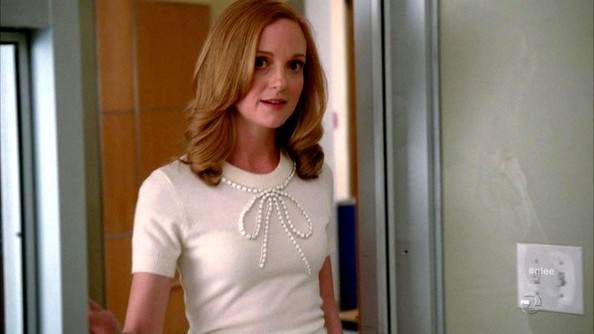 Jayma Mays Crewneck Sweater