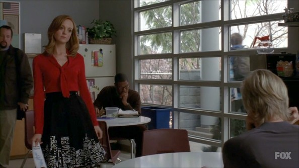 Jayma Mays V-neck Sweater