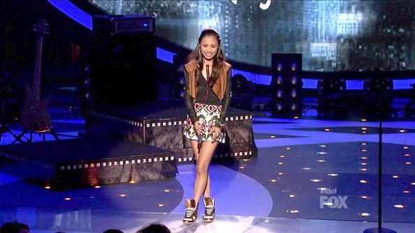 Jessica Sanchez Mini Skirt