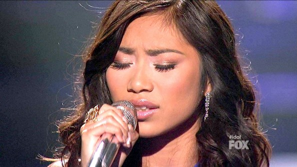 Jessica Sanchez Metallic Eyeshadow