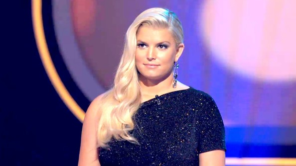 Jessica Simpson Long Side Part