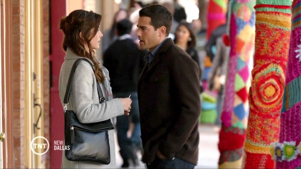 Julie Gonzalo Leather Shoulder Bag