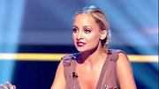 Nicole Richie hit the perfect note with her dark berry colored lipstick - check out this rich boysenberry shade!