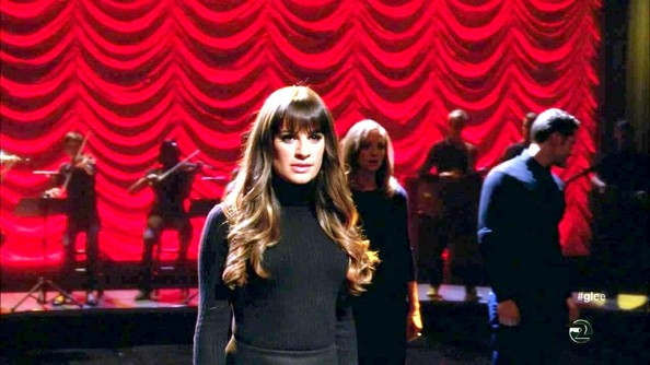 Lea Michele Turtleneck