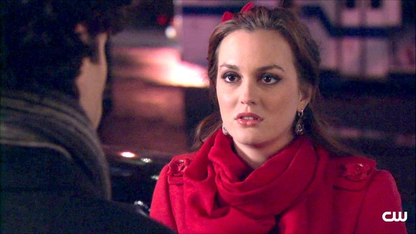 Leighton Meester Solid Scarf []
