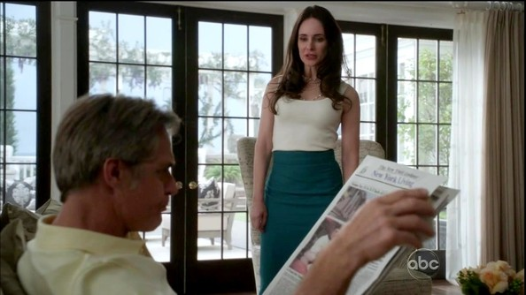 Madeleine Stowe Knee Length Skirt