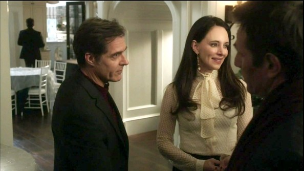 Madeleine Stowe Fitted Blouse