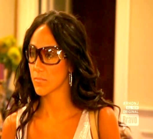 Melissa Gorga Designer Shield Sunglasses