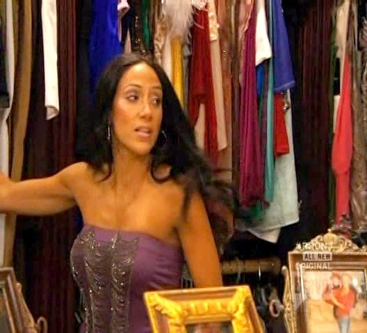 Melissa Gorga Tube Top