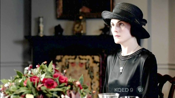 Michelle Dockery Wide Brimmed Hat