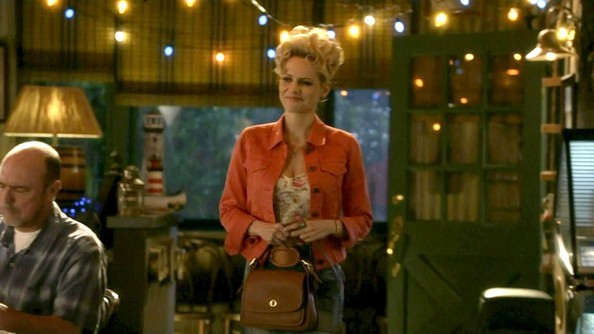 Mircea Monroe Leather Shoulder Bag