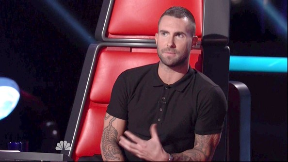 More Pics of Adam Levine Animal Tattoo (1 of 1) - Adam Levine Lookbook - StyleBistro