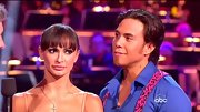 Karina Smirnoff finished off her dance costume with a dainty cross necklace.