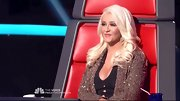 She may experiment with some daring barely-there get-ups, but these days Christina Aguilera seems content to keep her platinum 'do in loose retro curls.