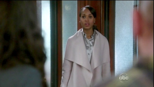 More Pics of Kerry Washington Wool Coat (2 of 13) - Kerry Washington Lookbook - StyleBistro