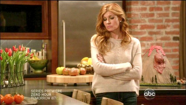 More Pics of Connie Britton Fitted Blouse (1 of 11) - Connie Britton Lookbook - StyleBistro
