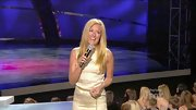 Cat Deeley was sparkly perfection on 'SYTYCD' in a beaded high-necked mini.