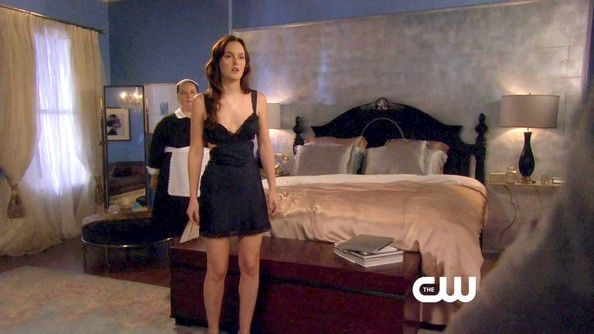 More Pics of Leighton Meester Lingerie (1 of 19) - Lingerie Lookbook - StyleBistro
