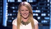 We are loving the bold statement necklace Hollie Cavanagh used to liven up her little white dress. Nice touch.