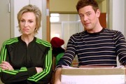 Jane Lynch and Cory Monteith Photo