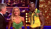 Green and yellow are definitely Donald Driver's lucky colors. First as a Greenbay Packer and now as the 'DWTS' champ.
