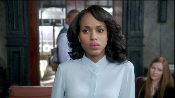 More Pics of Kerry Washington Button Down Shirt (3 of 6) - Kerry Washington Lookbook - StyleBistro