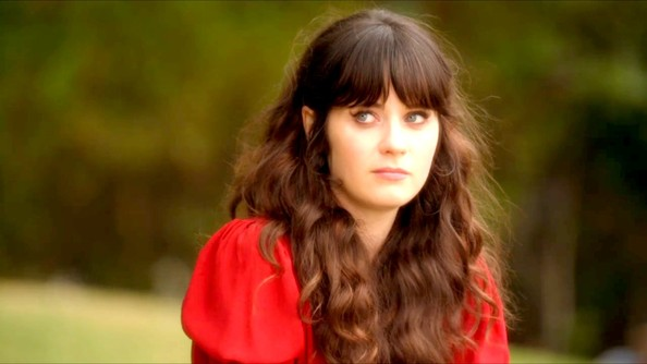 Zooey Deschanel Cat Eyes