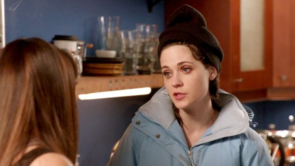 Zooey Deschanel Cable Beanie