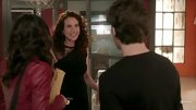 Andie MacDowell's lacy LBD is a bit sexy for a regular office setting, but its perfectly appropriate for the fashion house she rules over on 'Jane By Design.'
