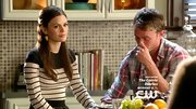 Rachel Bilson embraced the nautical look on 'Hart of Dixie' with this striped Breton sweater.
