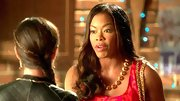 Golden Brooks' gold beaded necklace had the classic elegance of pearls with a fun twist.