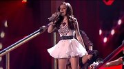 Cher Lloyd brought her signature sass to the 'DWTS' ballroom in a flirty bedazzled mini dress.