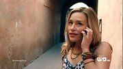 Piper Perabo kept in theme during a Moroccan mission on 'Covert Affairs' with a wrist full of beaded bracelets.