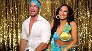 Cheryl Burke looked like an '80s Barbie Doll in this foo-foo ensemble.
