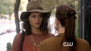 Sofia Black-D'Elia maintained her boho-chic image on 'Gossip Girl' with this floppy wool fedora.