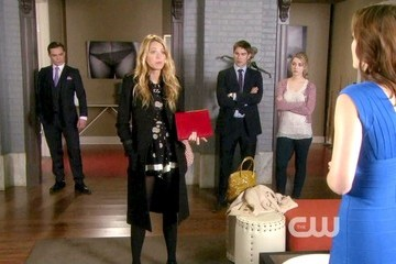 Blake Lively Ed Westwick Gossip Girl Season 5 Episode 22