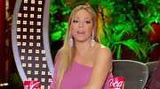 Mariah Carey wasn't afraid to show a little skin in a one-should pink top.