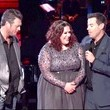 Erin Willett's Sequined Two Piece Dress on 'The Voice'