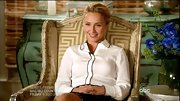 Hayden Panettiere put her most professional face forward on 'Nashville' in a contrast-trim button-down.