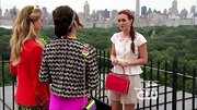 Leighton Meester kept things ladylike on 'Gossip Girl' with an on-trend peplum top.