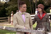 Ed Westwick and Leighton Meester Photo