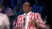 Something about Randy Jackson's pink plaid blazer screams summer picnic, no?