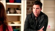 Colin Egglesfield stuck with a casual look on 'The Client List' when he sported this black denim jacket.