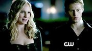 Candice Accola bared some skin on 'The Vampire Diaries' in a flirty dotted bustier.