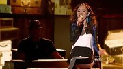 Jessica Sanchez had a moto vibe in this two-tone leather jacket.