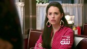 Chloe Bridges rocked a pair of gold and pink dangle earrings on 'The Carrie Diaries.'